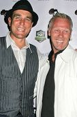 Vinnie Jones and Warrem Barton at the World Cup Showdown Fundraiser, El Guapo Cantina, Los Angeles,