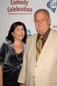 Winnie Holzman and Paul Dooley at the International Myeloma Foundation's 3rd Annual Comedy Celebrati
