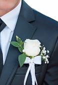 Groomsman Close-up