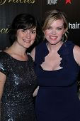 Sandra Fluke, Erin M. Fuller at the 2012 Gracie Awards Gala, Beverly Hilton Hotel, Beverly Hills, CA 05-22-12
