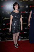 Sandra Fluke at the 2012 Gracie Awards Gala, Beverly Hilton Hotel, Beverly Hills, CA 05-22-12