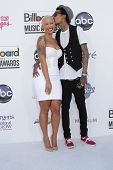 Amber Rose, Wiz Khalifa at the 2012 Billboard Music Awards Arrivals, MGM Grand, Las Vegas, NV 05-20-