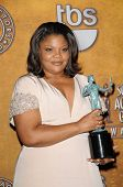 Mo'Nique at the 16th Annual Screen Actors Guild Awards Press Room, Shrine Auditorium, Los Angeles, C