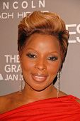 Mary J. Blige at the ESSENCE Black Women in Music celebration honoring Mary J. Blige, Sunset Tower Hotel, West Hollywood, CA. 01-27-10