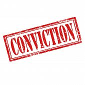 Conviction-stamp