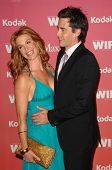 Poppy Montgomery and Adam Kaufman  at the Women In Film 2009 Crystal And Lucy Awards. Hyatt Regency