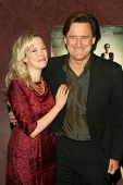 Pell James and Bill Pullman  at the Los Angeles Premiere of 'Surveillance'. The Landmark, Los Angele