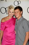 Kimberly Wyatt and Kevin G. Schmidt  at the