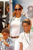 Holly Robinson Peete and her sons  at the World Premiere of 'G-Force'. El Capitan Theatre, Hollywood, CA. 07-19-09