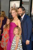 Leslie Mann and Judd Apatow with their daughters Maude Apatow and Iris Apatow at the World Premiere of 'Funny People'. Arclight Hollywood, Hollywood, CA. 07-20-09
