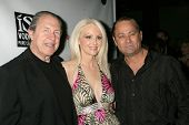 Richard Benveniste with Donna Spangler and Tim Colceri at the West Coast Premiere of 'Space Girls in