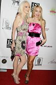 Donna Spangler and Lorielle New  at the West Coast Premiere of 'Space Girls in Beverly Hills'. Regen