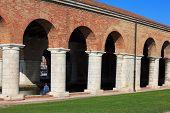 Arsenale Columns In Venice