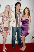 Allie Moss with Ronn Moss and Brittan Taylor at the Los Angeles Screening of 'Social Lights'. Regency Fairfax Cinemas, Los Angeles, CA. 08-05-09