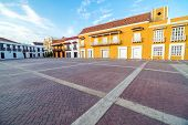Historic Plaza In Cartagena