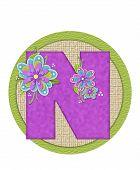 Alphabet Backyard Bouquet N