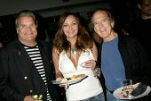 Edward Lozzi with Jill Noel and Harry Langdon  at the Los Angeles Screening of 'Social Lights'. Regency Fairfax Cinemas, Los Angeles, CA. 08-05-09