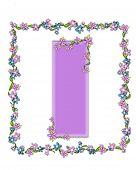 Alphabet Daisy Fair Lilac I