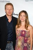 Kevin McKidd and wife Jane  at the 2009 Disney-ABC Television Group Summer Press Tour. Langham Resor