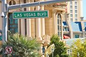 Signpost On The Las Vegas
