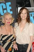 Tippi Hedren and Lesley Ann Warren  at the Los Angeles Premiere of 'Gotta Dance'. Linwood Dunn Theat