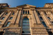 German Bundestag Side View