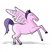 foto of pegasus  - cartoon pegasus - JPG
