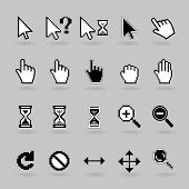 Cursors icons