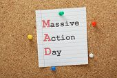 pic of jargon  - Have a MAD or Massive Action Day to tackle a big project or make a start on a new idea - JPG