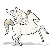 pic of pegasus  - cartoon pegasus - JPG