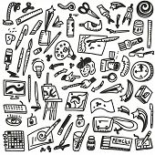 paint tools - doodles