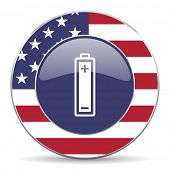 battery american icon