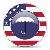 umbrella american icon