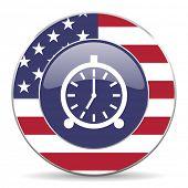alarm american icon