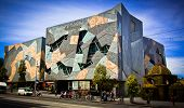 MELBOURNE, AUSTRALIA - OCTOBER 29 2012: Iconic Federation Square celebrated 10 Years.  Since opening