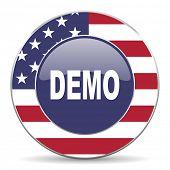 demo american icon