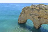 Sea Arch In Algarve, Portugal