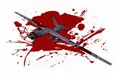 Deadly Dron In Blood