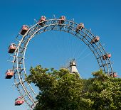 Ferris Wheel of vienna prater park