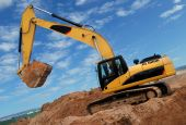 Excavator In Sandpit