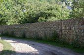 Fences made of stone