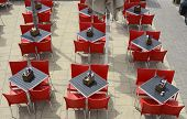 Restaurant Tables And Chairs. Brighton. England