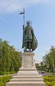 Monument To St Demetrius Of Thessaloniki  In Dmitrov, Russia