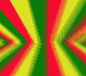 pic of rasta  - Red yellow green rasta flag for background - JPG
