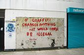 Banksy Graffiti, London