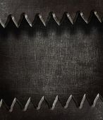 Aged metal texture. Dark steel background.