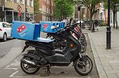 Domino's Pizza Mopeds, London