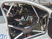 Interior Of A Racing Car