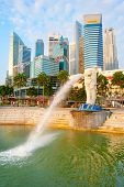 Merlion Fountain, Singapore