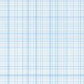 Pastel blue stripes plaid